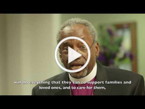 """Bishop Michael Curry: """"Walk and Don't Give Up"""""""