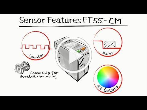 FT 55-CM - a smart color sensor bursting with talent