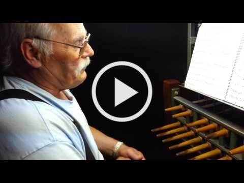 Gene Frohlich Plays the Christ Church Bells on the 4th of July