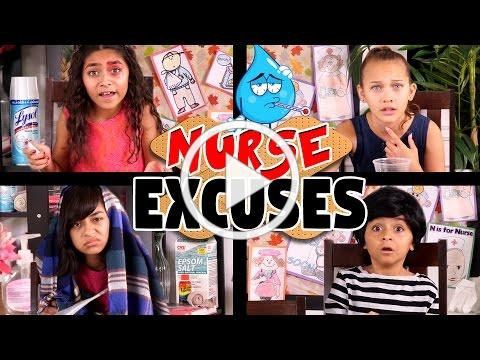 School Nurse Excuses - ft. Halia Beamer // GEM Sisters