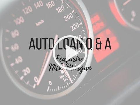 Auto Loan Q & A
