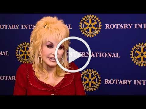 Dolly Parton Imagination Library with Rotary International
