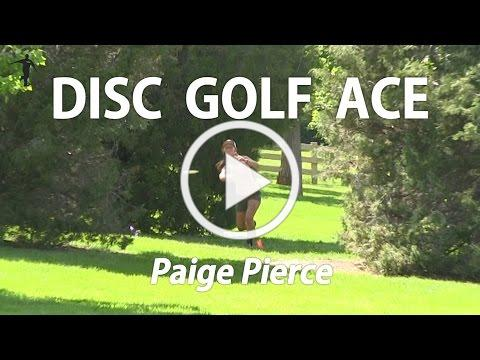 The Disc Golf Guy - Vlog #295 - Disc Golf Hole in One - Ace by Paige Pierce