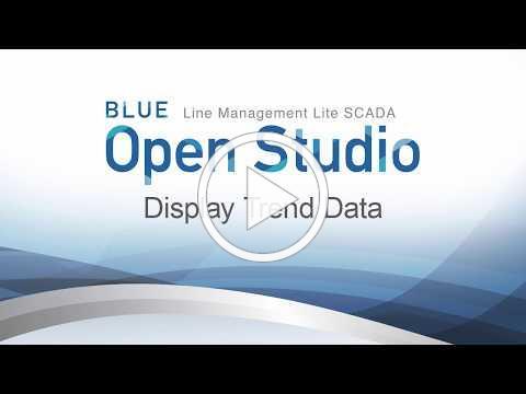 BLUE Open Studio: Display Trend Data