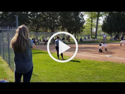Madison Hagerty Get's 100th Hit as OLMA Softball Player