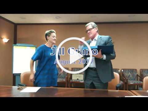 Jill Grano Receiving Colorado Senior Lobby's Serving our Seniors Award