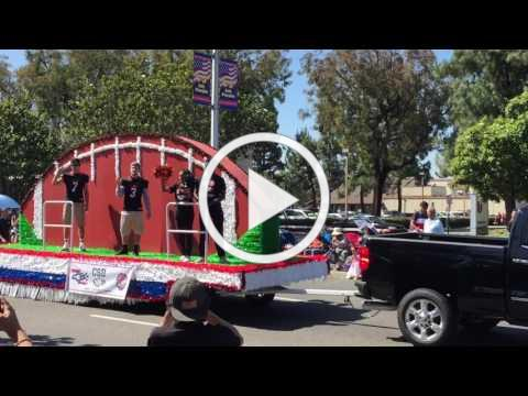 California School for the Deaf in 4th of July Parade in Fremont, CA