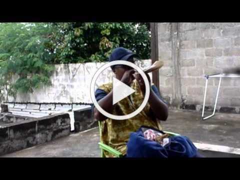 Shofar Blowing from Ivory Coast Jewish Community