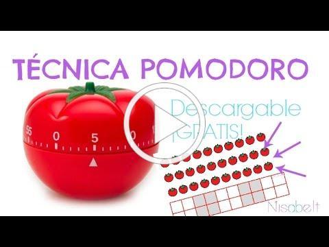 Técnica Pomodoro. Técnica de estudio / NISABELT