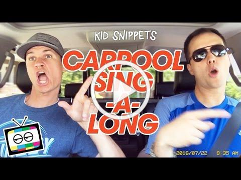 Car Pool Sing-A-Long - Kid Snippets