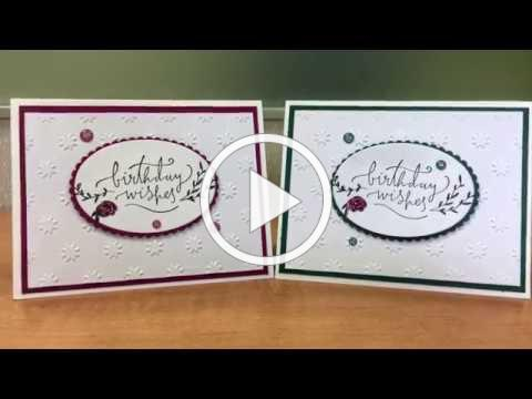 Stampin' Up! | Happiest of Days | Birthday Card