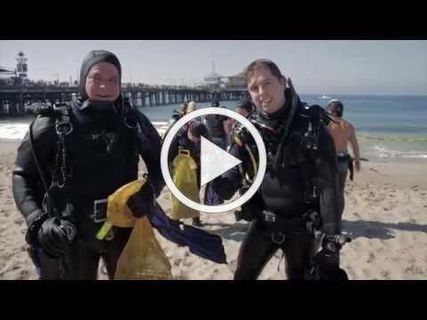 Santa Monica Pier Underwater CleanUp Dive