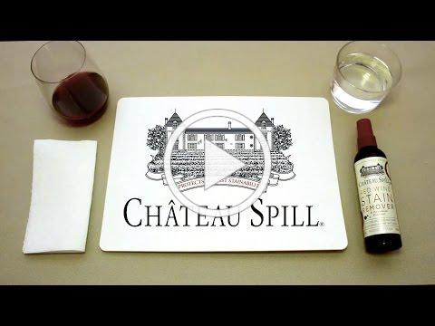 How to Remove Stains with Chateau Spill