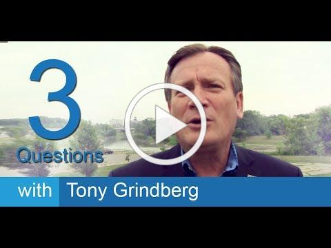 3 Questions with Tony Grindberg