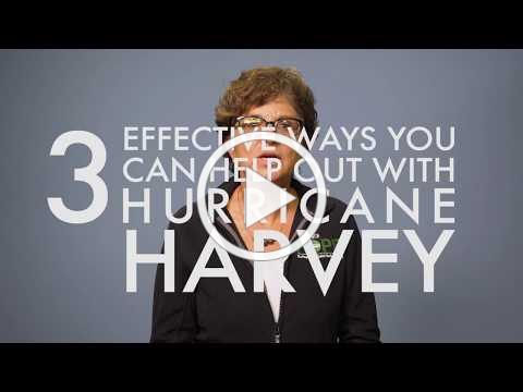 3 Effective Ways You Can Help Out With Hurricane Harvey //GNJUMC