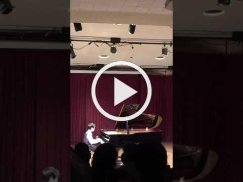 Austin L., age 11 performs Puck Op. 71, No. 3 by Grieg