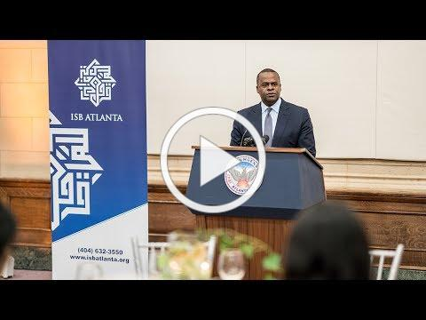Mayor Kasim Reed at City of Atlanta's Inaugural Iftar Dinner