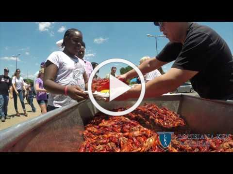 LA Key Academy Crawfish Boil