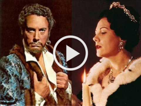"RENATA TEBALDI & MARIO DEL MONACO "" O TERRA ADDIO "" AIDA ( GIUSEPPE VERDI )"