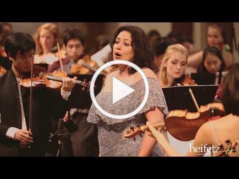 Heifetz 2017 Grand Finale: At The River / Shenandoah | Angel Azzarra & The Heifetz Band