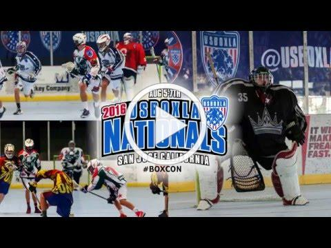 US Box Lacrosse Association USBOXLA Nationals 2016