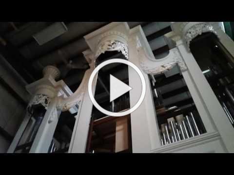 Parker Kitterman plays the next Christ Church Organ at CB Fisk Open House