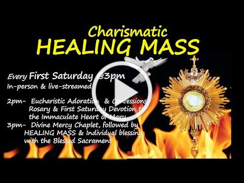 Charismatic Healing Mass. 6/5/2021 @3pm St. Antoninus Catholic Church