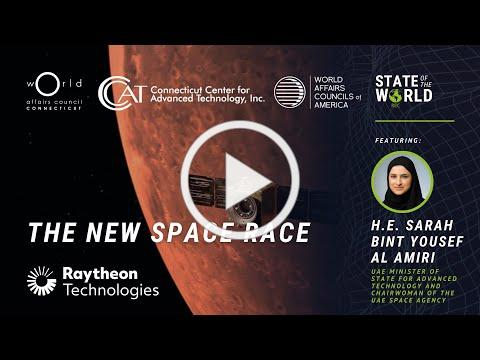 The New Space Race   UAE Minister of State for Advanced Technology, H.E. Sarah Al Amiri