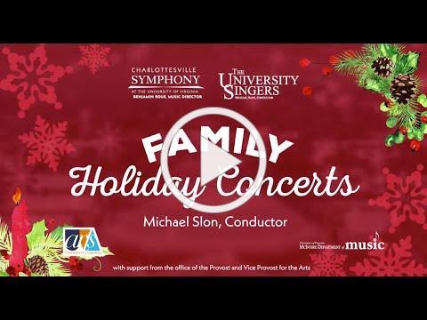 UVA Family Holiday Concert 2020