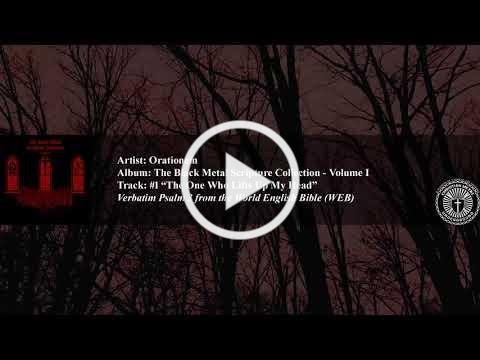 Orationem The Black Metal Scripture Collection - Volume I (visualizer)