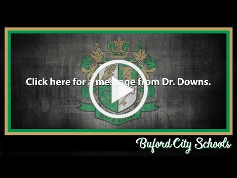 BCS Superintendent, Dr. Downs August Newsletter Video