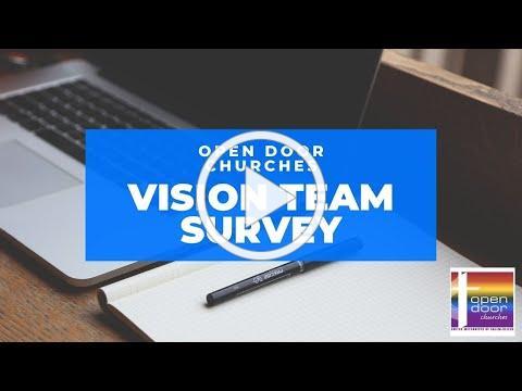 Open Door Churches Vision Team Survey