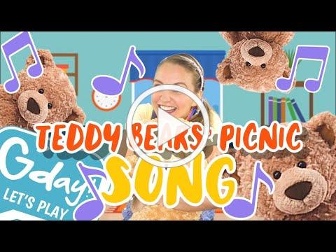 Teddy Bears' Picnic   SONG ONLY   G'day Let's Play Music
