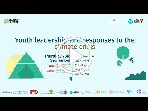 Youth leadership and responses to the climate crisis