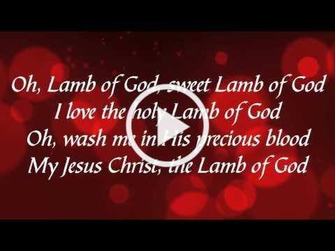 Lamb of God (with lyrics)