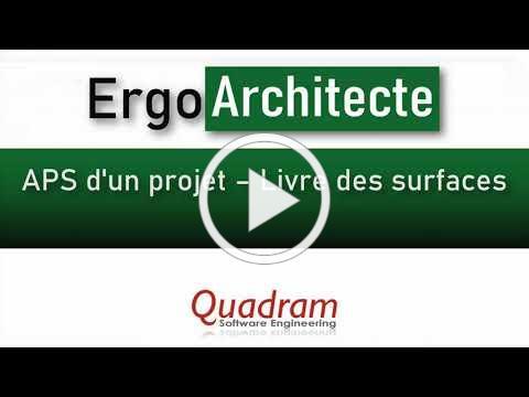 ErgoArchitecte - APS et Livre des Surfaces
