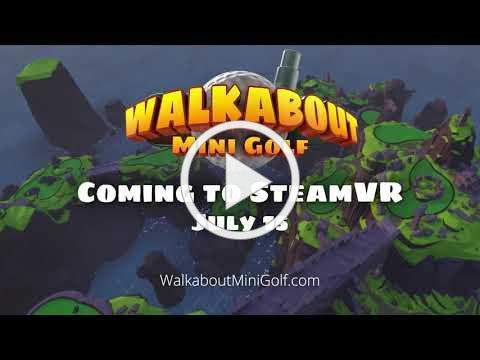 Walkabout Mini Golf - Steam Announcement
