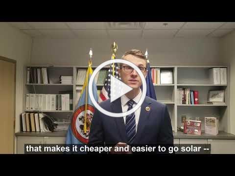 Supervisor James Walkinshaw on Solarize NoVA