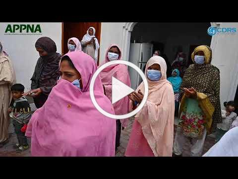 APPNA FOOD DISTRIBUTION IN SHEIKHUPURA, PUNJAB, PAKISTAN - MAR 23 2021