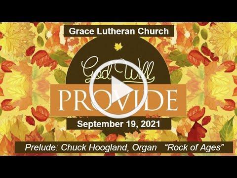 Worship Service for September 19, 2021