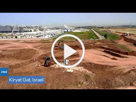 Drone Video Shows Construction at 4 Intel Plants