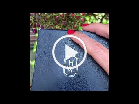 MDJ Advantage - Estate - Harry Winston Lapis Ruby Diamond Earrings - Dominic Mainella
