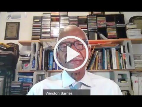 Commissioner Barnes Stroke Awareness