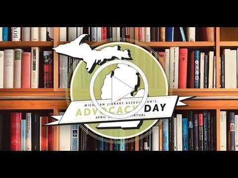 Michigan Library Advocacy Day 2021
