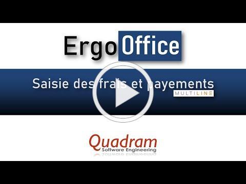 ErgoOffice - Paiement des frais