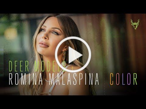 Deer Models & Romina Malaspina - Color (Video Oficial)