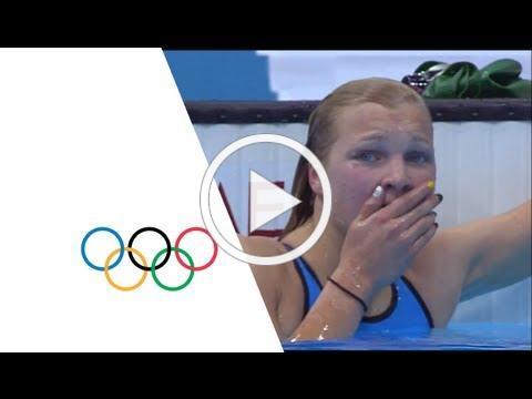 Ruta Meilutyte Wins Women's 100m Breaststroke Gold - London 2012 Olympics