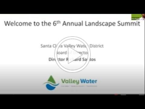 2021 Virtual Valley Water Landscape Summit