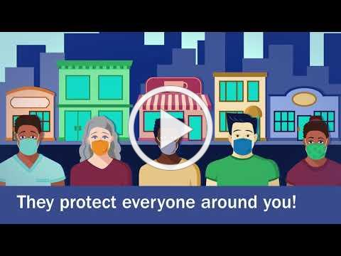 Wear a Mask to Stop the Spread of COVID-19