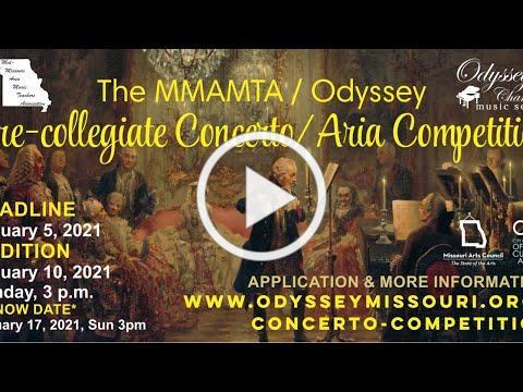 Odyssey Chamber Music Series, 2021.01.10 - The 4th Pre-Collegiate Aria & Concerto Competition (LIVE)